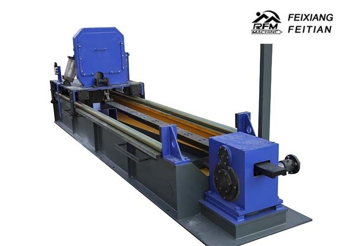 Galvanized Steel Welded Tube Roll Forming Machine , Round / Square Pipe Making Machine