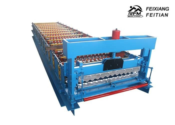 Professional Color Steel Roll Forming Machine 380V 50Hz 3 Phases For Floor Decking
