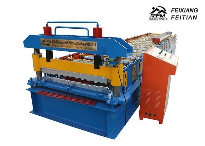 10m/Min Speed Roller Shutter Door Roll Forming Machine With PLC Control