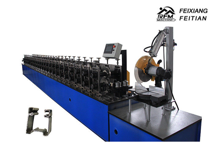 Professional Roller Shutter Door Roll Forming Machine FX30-76 For Building Material