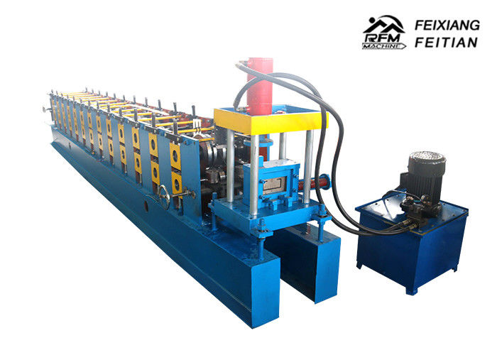Full Auto C Z U L W Purlin Roll Forming Machine With 1.5 - 3 mm Thickness